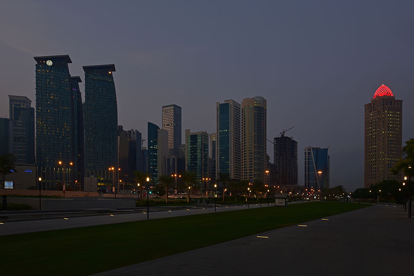 Picture of Doha Qatar Architecture