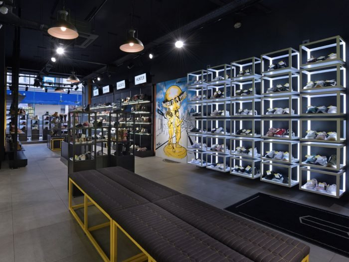 interior architectural video for retail shop