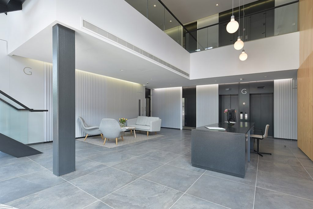 Commercial Property Interior Design Photography of new office in Oxfordshire