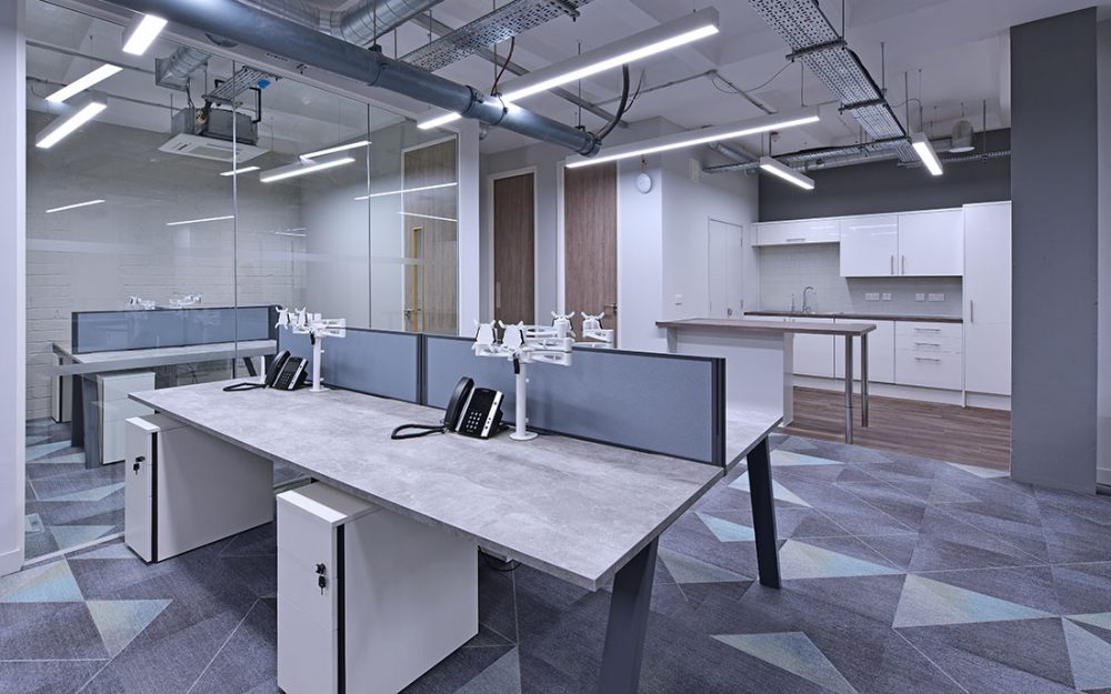 office re-fit interior photography design