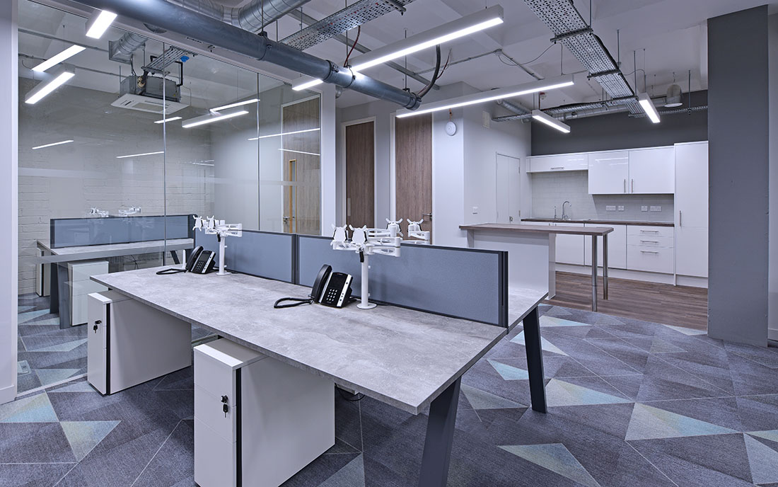 office re-fit interior design