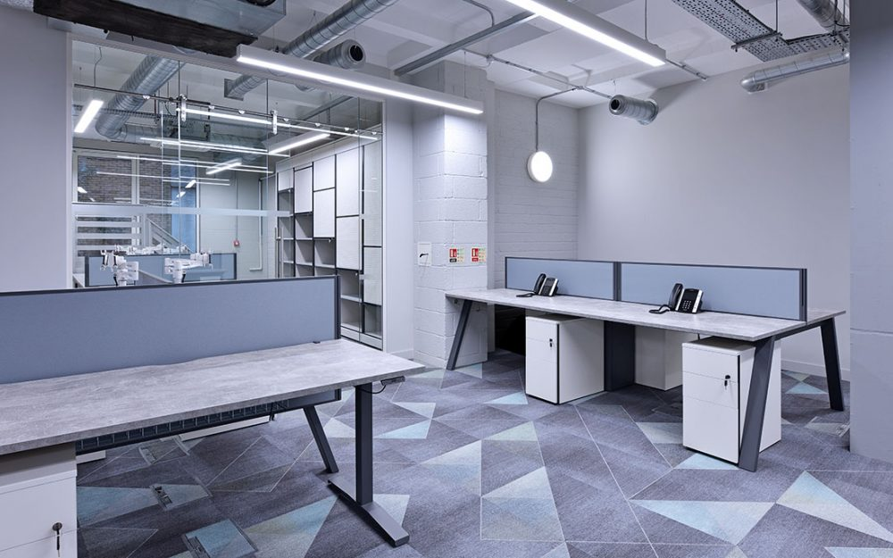 office re-fit interior design photography