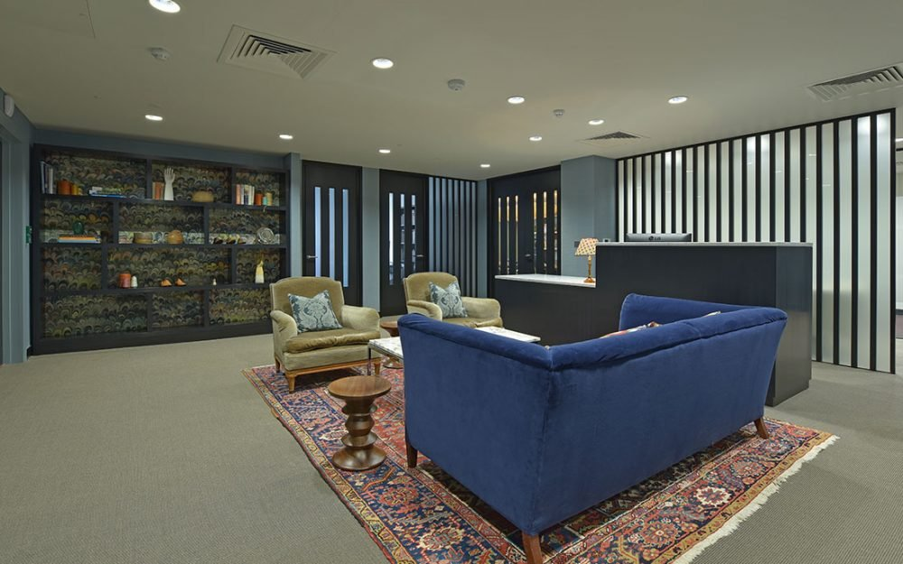 photography of office interior design