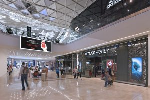 photography of retail shopping centre London