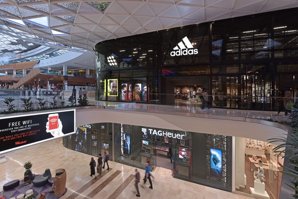 retail interior photography Westfield London