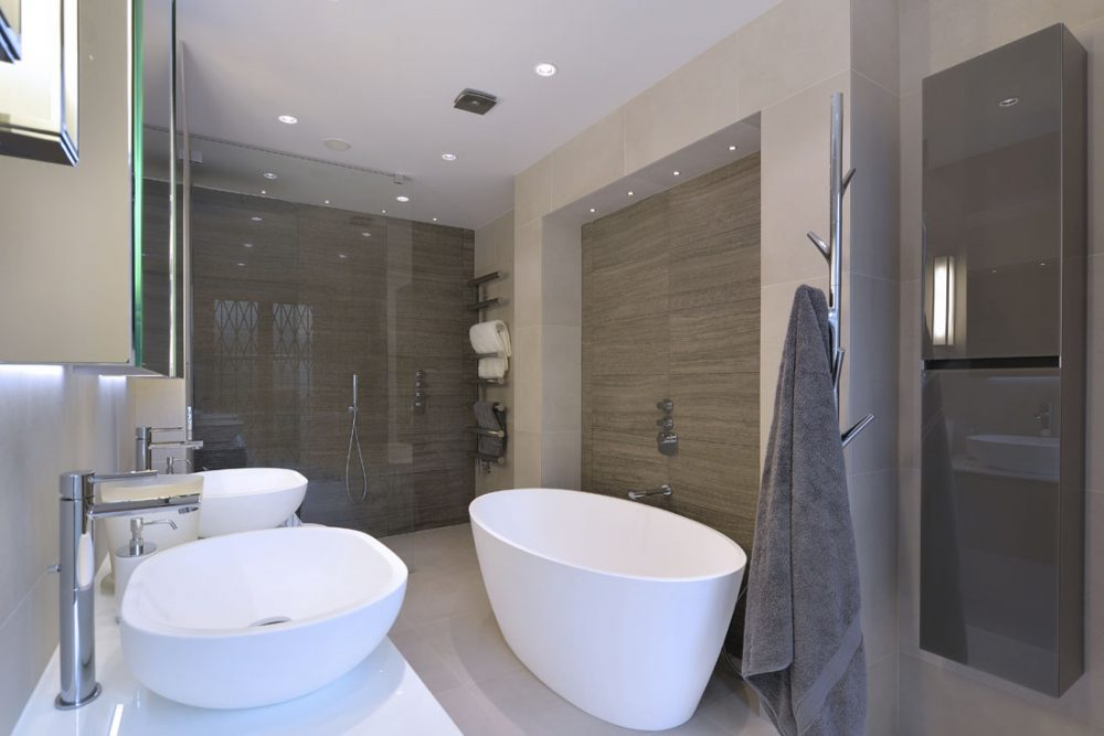Bathroom photography from interior design shoot in London.