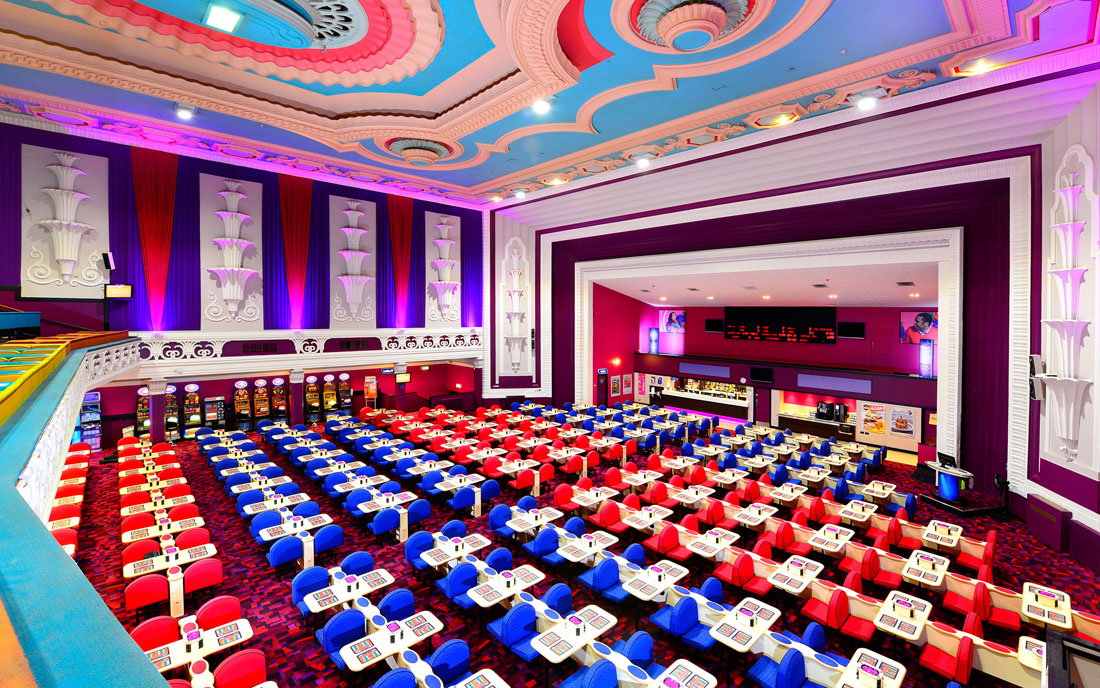 Mecca Bingo Interior Photographer UK