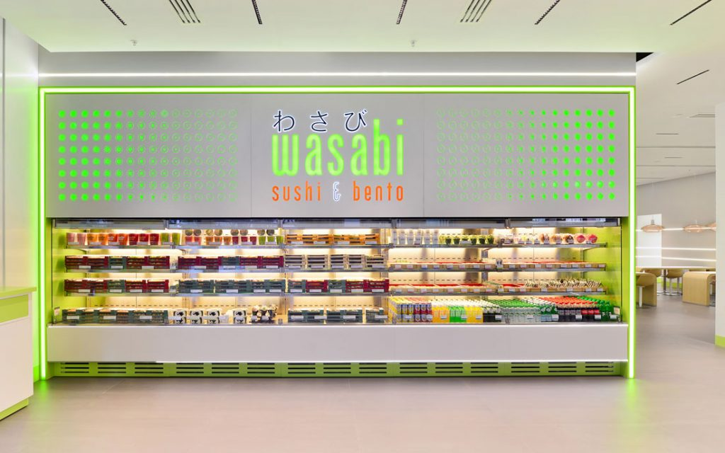 Restaurant Wasabi Retail Interior Photographer UK