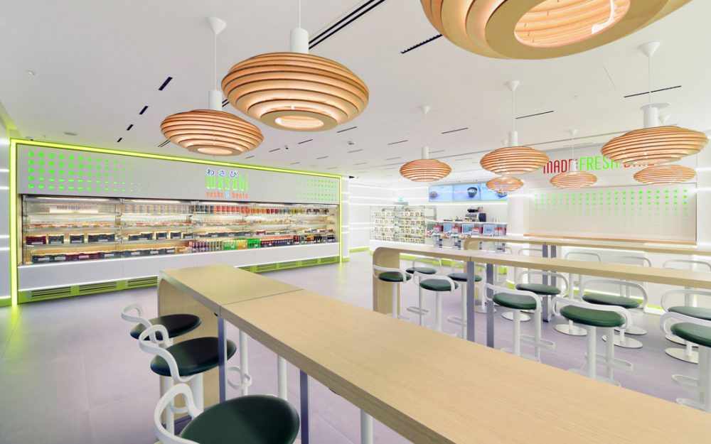 London Retail Photography for Wasabi who provide convenience food. Restaurant
