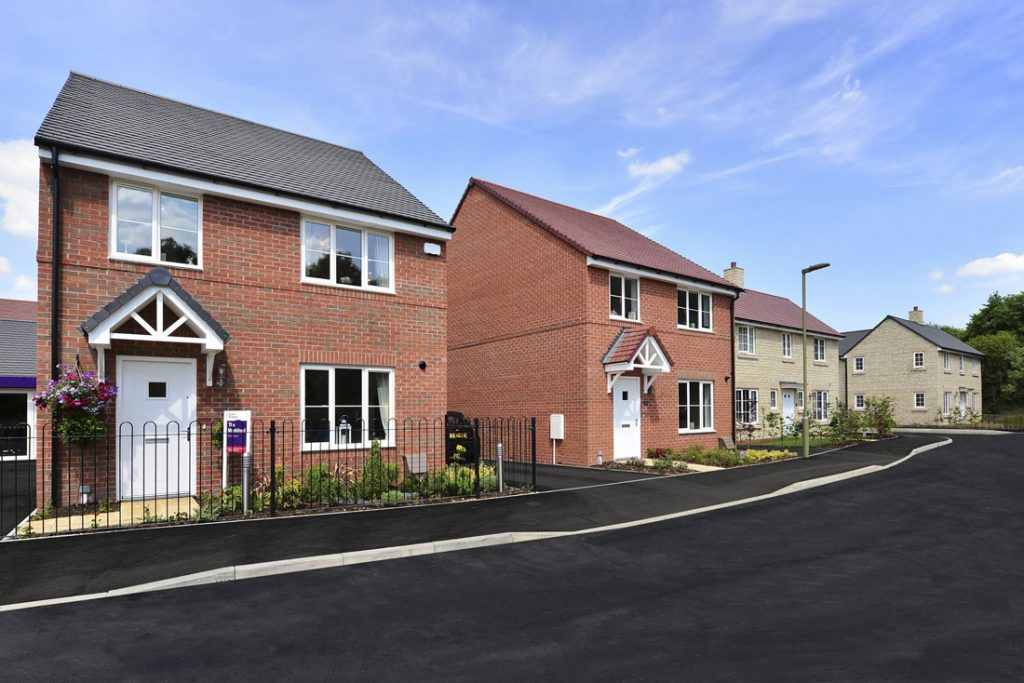 new build homes photography oxfordshire