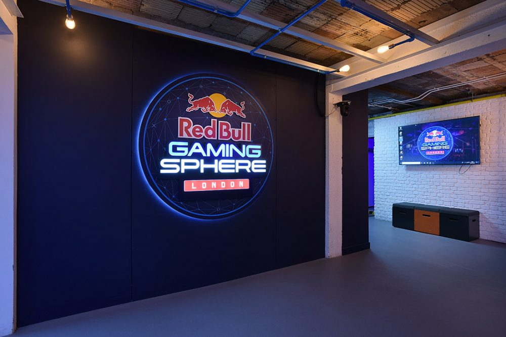 RedBull Gaming Sphere in London.