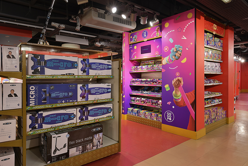 Hamleys London Merchandise Photography